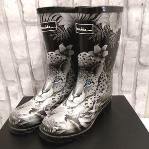 Anushka Calf Height Rain Boots
